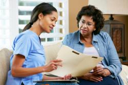 caregiver counseling patient